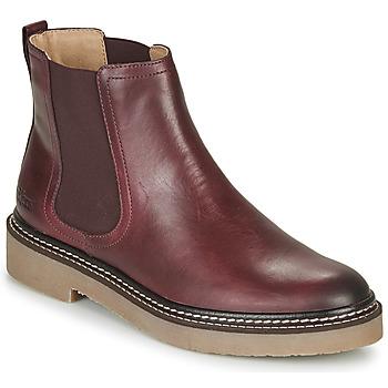 kengät Naiset Bootsit Kickers OXFORDCHIC Punainen