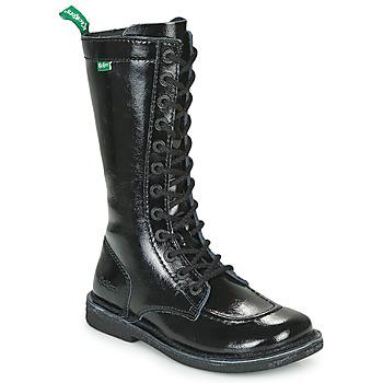 kengät Naiset Saappaat Kickers MEETKIKNEW Musta