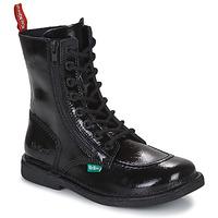 kengät Naiset Bootsit Kickers MEETICKZIP Musta