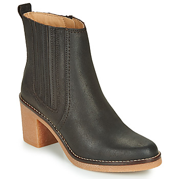 kengät Naiset Bootsit Kickers AVERNY Ruskea / Tumma