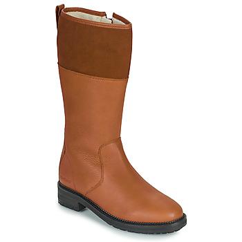 kengät Naiset Saappaat Kickers WATHIGH Kamelinruskea
