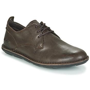 kengät Miehet Derby-kengät Kickers SWIDIRA Brown / Fonce