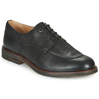 kengät Miehet Derby-kengät Kickers ALPHABI Musta