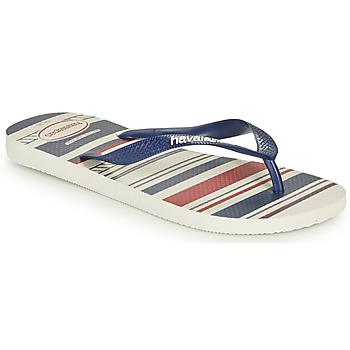 kengät Miehet Varvassandaalit Havaianas Top Nautical Blue / Red