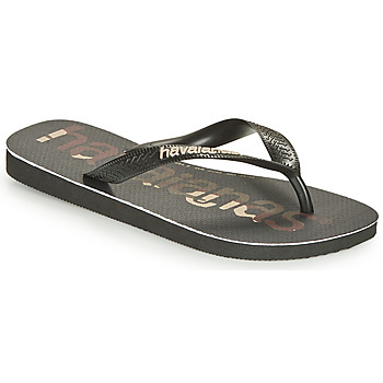 kengät Varvassandaalit Havaianas Top Logomania Black