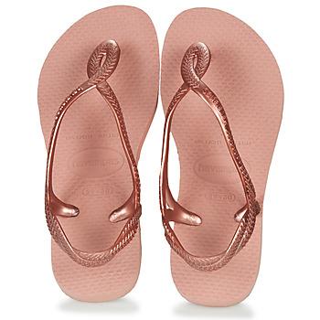 kengät Tytöt Varvassandaalit Havaianas Luna Mini Me Pink