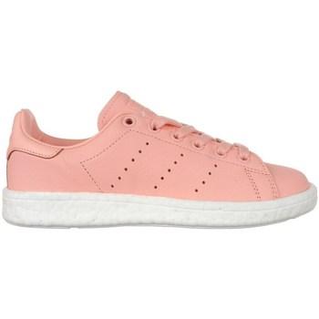 kengät Naiset Matalavartiset tennarit adidas Originals Stan Smith Boost Vaaleanpunaiset