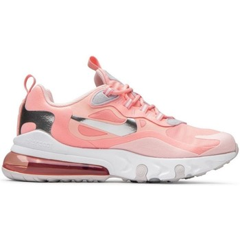 kengät Naiset Matalavartiset tennarit Nike Air Max 270 React GG Vaaleanpunaiset
