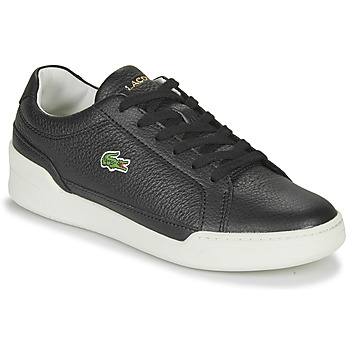 kengät Naiset Matalavartiset tennarit Lacoste CHALLENGE 0120 1 SFA Black / White