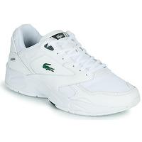 kengät Miehet Matalavartiset tennarit Lacoste STORM 96 LO 0120 3 SMA White / Green