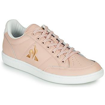 kengät Naiset Matalavartiset tennarit Le Coq Sportif COURT CLAY W Pink