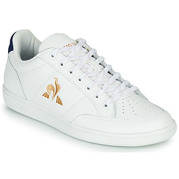 kengät Naiset Matalavartiset tennarit Le Coq Sportif COURT CLAY W White / Blue