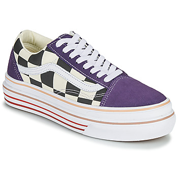 kengät Naiset Matalavartiset tennarit Vans SUPER COMFYCUSH OLD SKOOL Violet