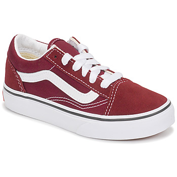 kengät Lapset Matalavartiset tennarit Vans UY OLD SKOOL Bordeaux