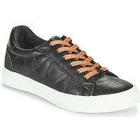 kengät Naiset Matalavartiset tennarit Le Temps des Cerises VIC Black