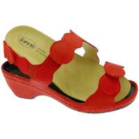 kengät Naiset Sandaalit ja avokkaat Calzaturificio Loren LOE687ro rosso