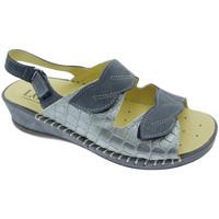 kengät Naiset Sandaalit ja avokkaat Calzaturificio Loren LOM2817bl blu