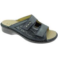 kengät Naiset Sandaalit Calzaturificio Loren LOM2824bl blu