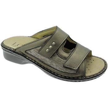 kengät Naiset Sandaalit Calzaturificio Loren LOM2824br tortora