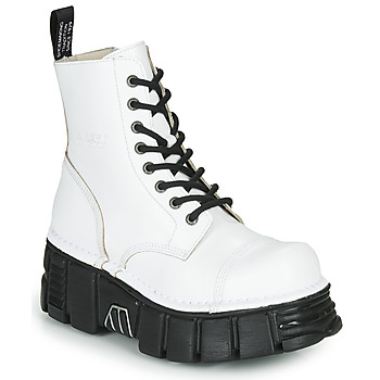 kengät Bootsit New Rock M-MILI083C-C9 White / Black