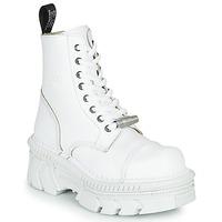 kengät Bootsit New Rock  White