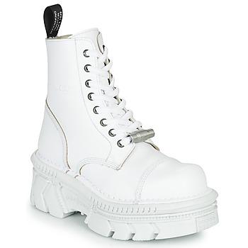 kengät Bootsit New Rock M-MILI083CM-C56 Valkoinen