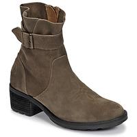 kengät Naiset Nilkkurit Palladium Manufacture MARGO 04 SUD Khaki