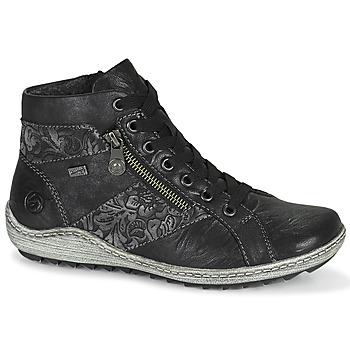 kengät Naiset Korkeavartiset tennarit Remonte Dorndorf R1497-45 Musta