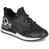 kengät Naiset Matalavartiset tennarit Remonte Dorndorf R2503-45 Musta / Leopardi