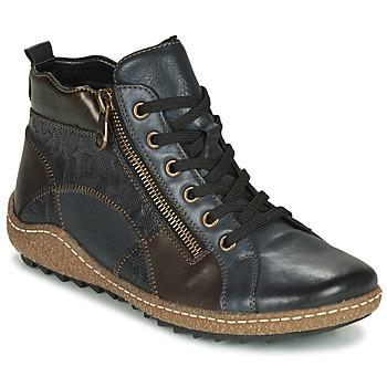 kengät Naiset Korkeavartiset tennarit Remonte Dorndorf R4790-14 Sininen