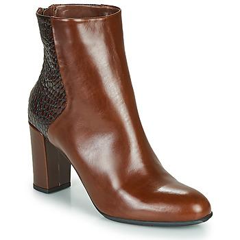 kengät Naiset Nilkkurit Perlato JAMICOT Brown