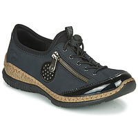 kengät Naiset Derby-kengät Rieker N3268-01 Blue / Black