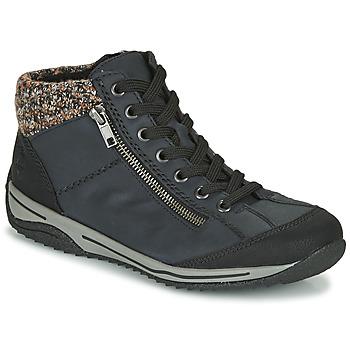 kengät Naiset Bootsit Rieker  Blue