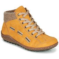 kengät Naiset Bootsit Rieker  Yellow
