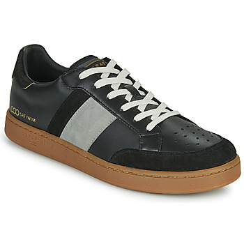 kengät Miehet Matalavartiset tennarit Serafini WIMBLEDON Black / Grey