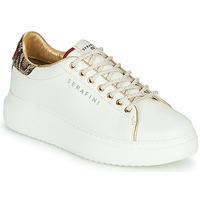 kengät Naiset Matalavartiset tennarit Serafini J.CONNORS White / Python