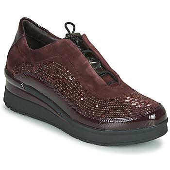 kengät Naiset Matalavartiset tennarit Stonefly CREAM 21 Viininpunainen