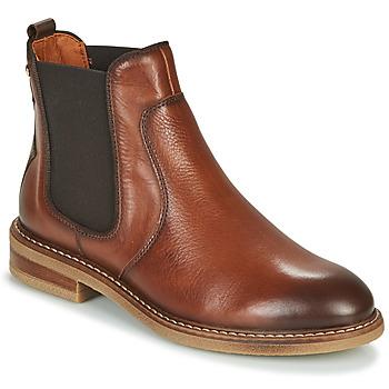 kengät Naiset Bootsit Pikolinos ALDAYA W8J Brown