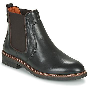 kengät Naiset Bootsit Pikolinos ALDAYA W8J Black / Brown