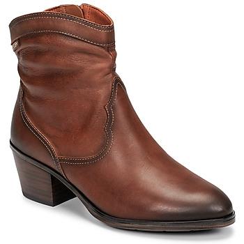 kengät Naiset Nilkkurit Pikolinos CUENCA W4T Brown