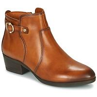 kengät Naiset Nilkkurit Pikolinos DAROCA W1U Brown