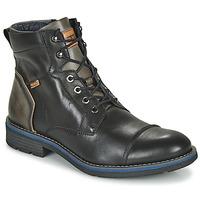 kengät Miehet Bootsit Pikolinos YORK M2M Black