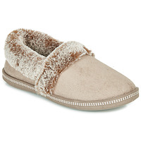 kengät Naiset Tossut Skechers COZY CAMPFIRE Beige