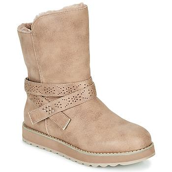 kengät Naiset Bootsit Skechers KEEPSAKES 2.0 Taupe
