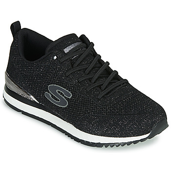 kengät Naiset Matalavartiset tennarit Skechers SUNLITE Black