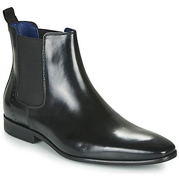 kengät Miehet Bootsit Azzaro JAGER Musta