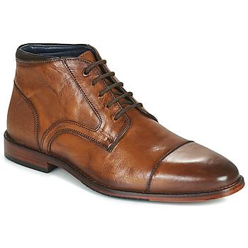 kengät Miehet Bootsit Azzaro TELLIS Konjakki