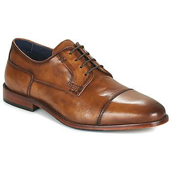kengät Miehet Derby-kengät Azzaro TILLEUL Konjakki
