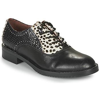 kengät Naiset Derby-kengät Café Noir JEREL Black / White