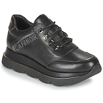 kengät Naiset Matalavartiset tennarit Café Noir JIZELE Black